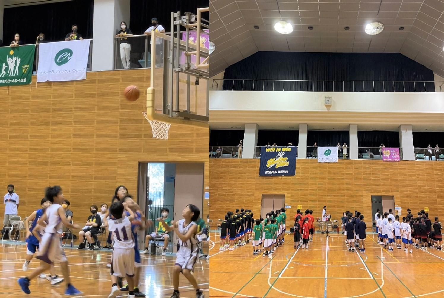 エンクレストCUP福岡市バスケットボール 夏季交歓大会 2021